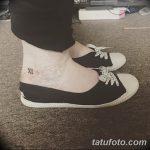 фото Маленькие тату для девушек от 26.01.2018 №092 - Little tattoos for girls - tatufoto.com