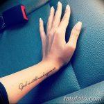 фото Маленькие тату для девушек от 26.01.2018 №093 - Little tattoos for girls - tatufoto.com