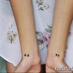 фото Маленькие тату для девушек от 26.01.2018 №103 - Little tattoos for girls - tatufoto.com