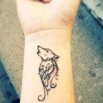 фото Маленькие тату для девушек от 26.01.2018 №107 - Little tattoos for girls - tatufoto.com