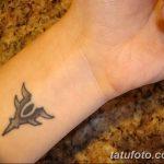 фото Маленькие тату для девушек от 26.01.2018 №115 - Little tattoos for girls - tatufoto.com