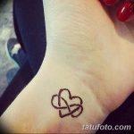 фото Маленькие тату для девушек от 26.01.2018 №130 - Little tattoos for girls - tatufoto.com