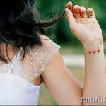 фото Маленькие тату для девушек от 26.01.2018 №139 - Little tattoos for girls - tatufoto.com