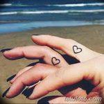 фото Маленькие тату для девушек от 26.01.2018 №140 - Little tattoos for girls - tatufoto.com
