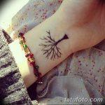 фото Маленькие тату для девушек от 26.01.2018 №164 - Little tattoos for girls - tatufoto.com
