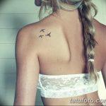 фото Маленькие тату для девушек от 26.01.2018 №170 - Little tattoos for girls - tatufoto.com