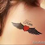 фото Маленькие тату для девушек от 26.01.2018 №173 - Little tattoos for girls - tatufoto.com