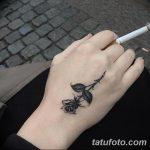фото Маленькие тату для девушек от 26.01.2018 №176 - Little tattoos for girls - tatufoto.com 252342