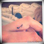фото Маленькие тату для девушек от 26.01.2018 №186 - Little tattoos for girls - tatufoto.com