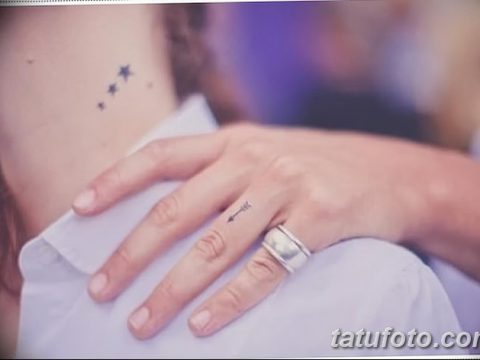 фото Маленькие тату для девушек от 26.01.2018 №189 - Little tattoos for girls - tatufoto.com
