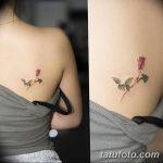 фото Маленькие тату для девушек от 26.01.2018 №196 - Little tattoos for girls - tatufoto.com