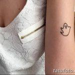 фото Маленькие тату для девушек от 26.01.2018 №205 - Little tattoos for girls - tatufoto.com