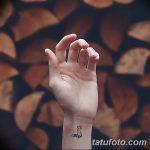 фото Маленькие тату для девушек от 26.01.2018 №209 - Little tattoos for girls - tatufoto.com