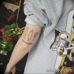 фото Маленькие тату для девушек от 26.01.2018 №210 - Little tattoos for girls - tatufoto.com