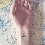 фото Маленькие тату для девушек от 26.01.2018 №211 - Little tattoos for girls - tatufoto.com