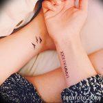 фото Маленькие тату для девушек от 26.01.2018 №221 - Little tattoos for girls - tatufoto.com