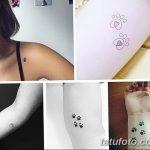 фото Маленькие тату для девушек от 26.01.2018 №228 - Little tattoos for girls - tatufoto.com