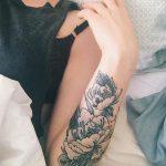 фото Маленькие тату для девушек от 26.01.2018 №239 - Little tattoos for girls - tatufoto.com