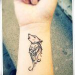 фото Маленькие тату для девушек от 26.01.2018 №240 - Little tattoos for girls - tatufoto.com
