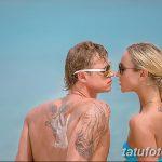 фото Тату Ольги Бузовой от 09.01.2018 №001 - Olga Buzovoy's tattoo - tatufoto.com
