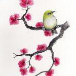 фото Эскизы тату Сакура от 27.01.2018 №004 - Sketches of Sakura tattoo - tatufoto.com