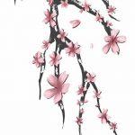 фото Эскизы тату Сакура от 27.01.2018 №005 - Sketches of Sakura tattoo - tatufoto.com