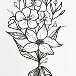 фото Эскизы тату Сакура от 27.01.2018 №009 - Sketches of Sakura tattoo - tatufoto.com