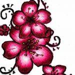 фото Эскизы тату Сакура от 27.01.2018 №017 - Sketches of Sakura tattoo - tatufoto.com