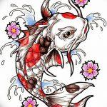 фото Эскизы тату Сакура от 27.01.2018 №018 - Sketches of Sakura tattoo - tatufoto.com