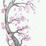 фото Эскизы тату Сакура от 27.01.2018 №020 - Sketches of Sakura tattoo - tatufoto.com