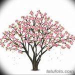 фото Эскизы тату Сакура от 27.01.2018 №026 - Sketches of Sakura tattoo - tatufoto.com