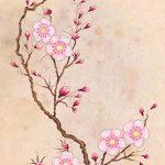 фото Эскизы тату Сакура от 27.01.2018 №027 - Sketches of Sakura tattoo - tatufoto.com