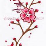 фото Эскизы тату Сакура от 27.01.2018 №031 - Sketches of Sakura tattoo - tatufoto.com
