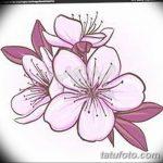 фото Эскизы тату Сакура от 27.01.2018 №039 - Sketches of Sakura tattoo - tatufoto.com