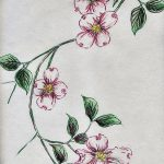 фото Эскизы тату Сакура от 27.01.2018 №046 - Sketches of Sakura tattoo - tatufoto.com