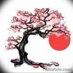 фото Эскизы тату Сакура от 27.01.2018 №050 - Sketches of Sakura tattoo - tatufoto.com