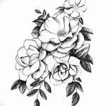 фото Эскизы тату Сакура от 27.01.2018 №057 - Sketches of Sakura tattoo - tatufoto.com