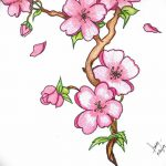 фото Эскизы тату Сакура от 27.01.2018 №074 - Sketches of Sakura tattoo - tatufoto.com
