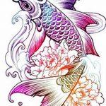фото Эскизы тату Сакура от 27.01.2018 №079 - Sketches of Sakura tattoo - tatufoto.com