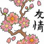 фото Эскизы тату Сакура от 27.01.2018 №086 - Sketches of Sakura tattoo - tatufoto.com