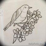 фото Эскизы тату Сакура от 27.01.2018 №094 - Sketches of Sakura tattoo - tatufoto.com