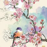 фото Эскизы тату Сакура от 27.01.2018 №101 - Sketches of Sakura tattoo - tatufoto.com