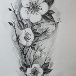 фото Эскизы тату Сакура от 27.01.2018 №105 - Sketches of Sakura tattoo - tatufoto.com