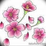 фото Эскизы тату Сакура от 27.01.2018 №112 - Sketches of Sakura tattoo - tatufoto.com