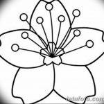 фото Эскизы тату Сакура от 27.01.2018 №115 - Sketches of Sakura tattoo - tatufoto.com
