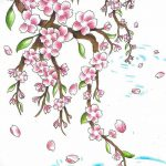 фото Эскизы тату Сакура от 27.01.2018 №120 - Sketches of Sakura tattoo - tatufoto.com
