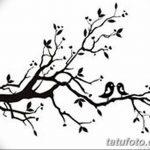 фото Эскизы тату Сакура от 27.01.2018 №135 - Sketches of Sakura tattoo - tatufoto.com