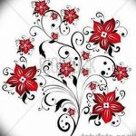 фото Эскизы тату Сакура от 27.01.2018 №136 - Sketches of Sakura tattoo - tatufoto.com
