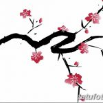 фото Эскизы тату Сакура от 27.01.2018 №140 - Sketches of Sakura tattoo - tatufoto.com