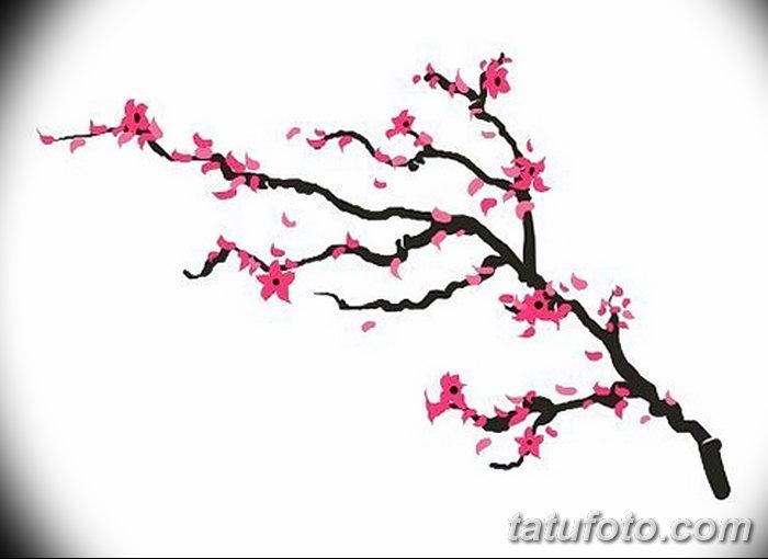 фото Эскизы тату Сакура от 27.01.2018 №147 - Sketches of Sakura tattoo - tatufoto.com